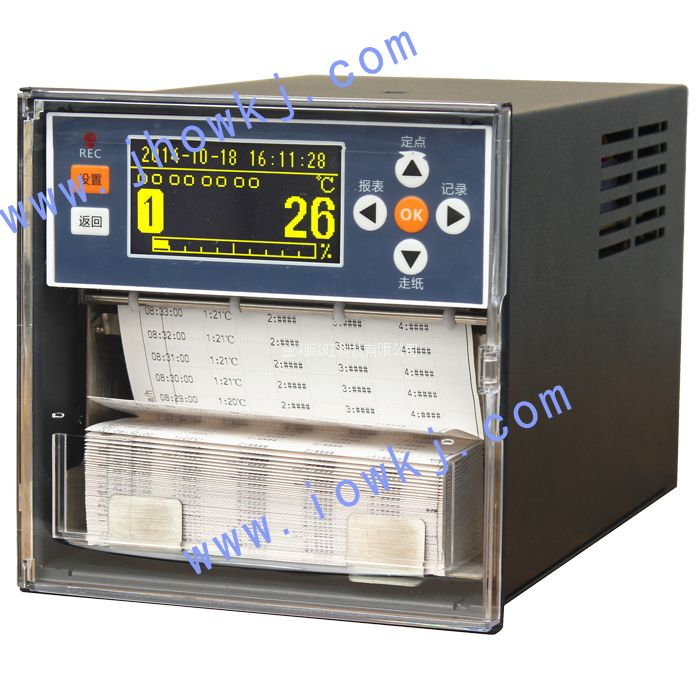 OW-R1002液晶有纸记录仪