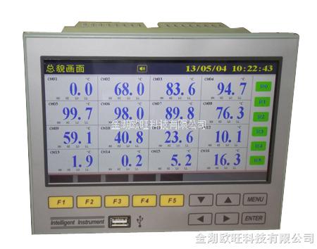 OW-R700超薄宽屏彩色无纸记录仪
